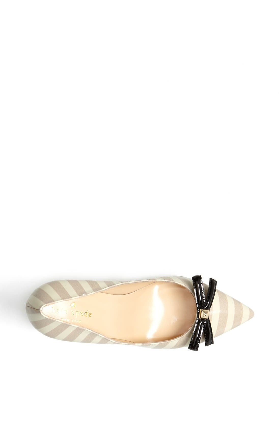 Alternate Image 3  - kate spade new york 'pietra' leather pump