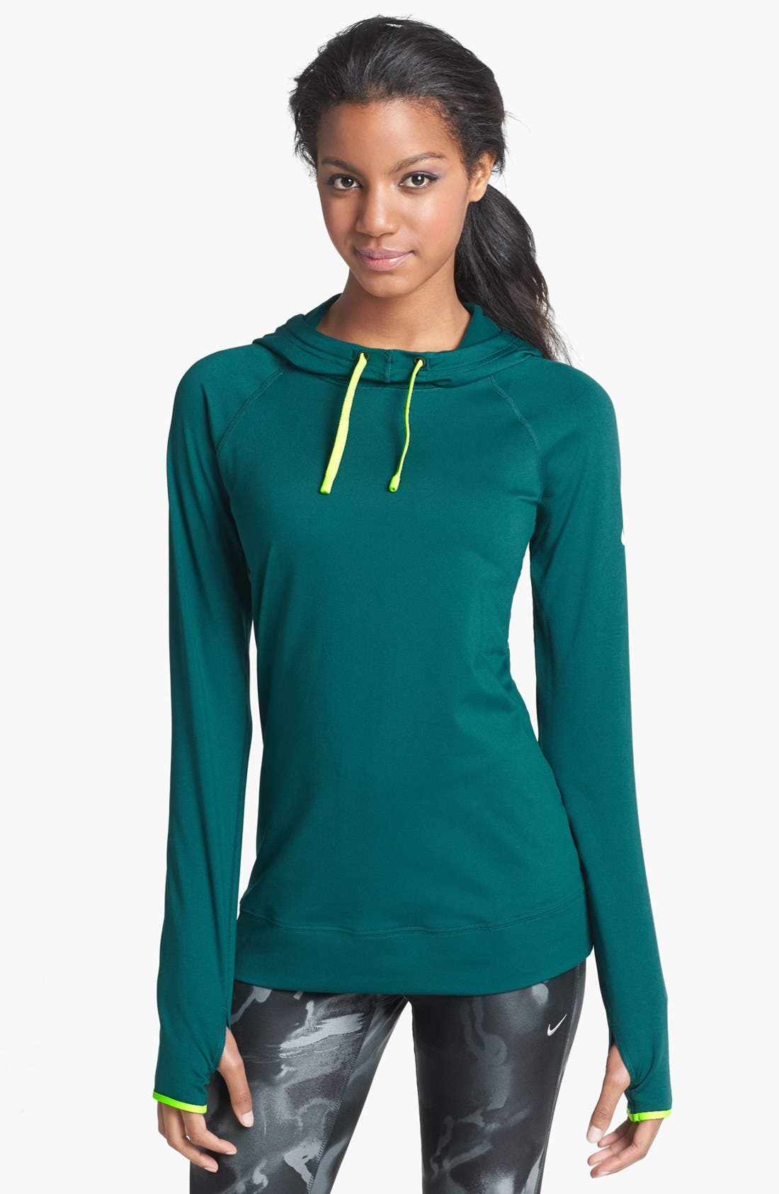 Alternate Image 1 Selected - Nike 'Pro Hyperwarm' Hoodie