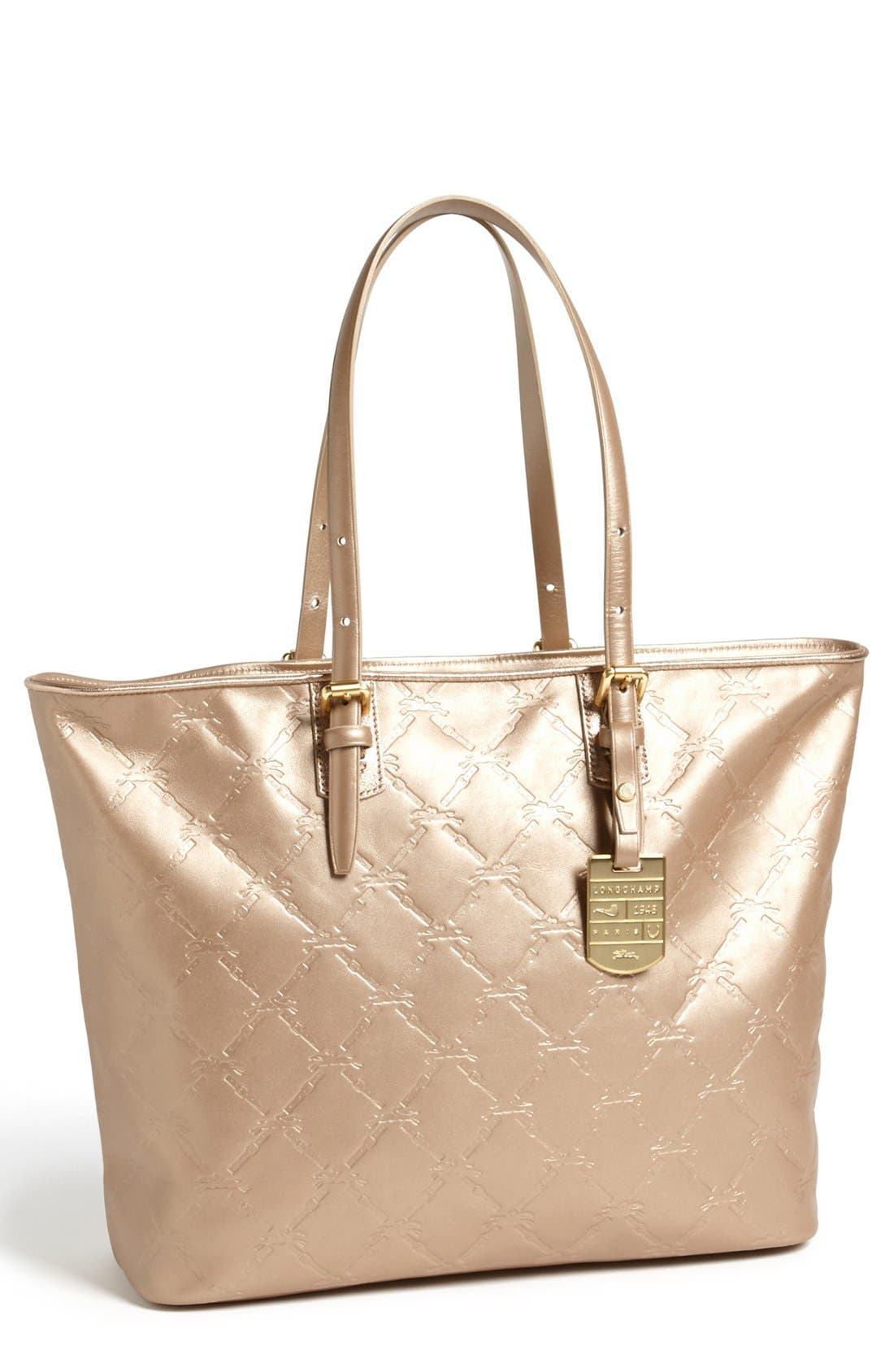 Alternate Image 1 Selected - Longchamp 'Large LM Cuir' Leather Tote