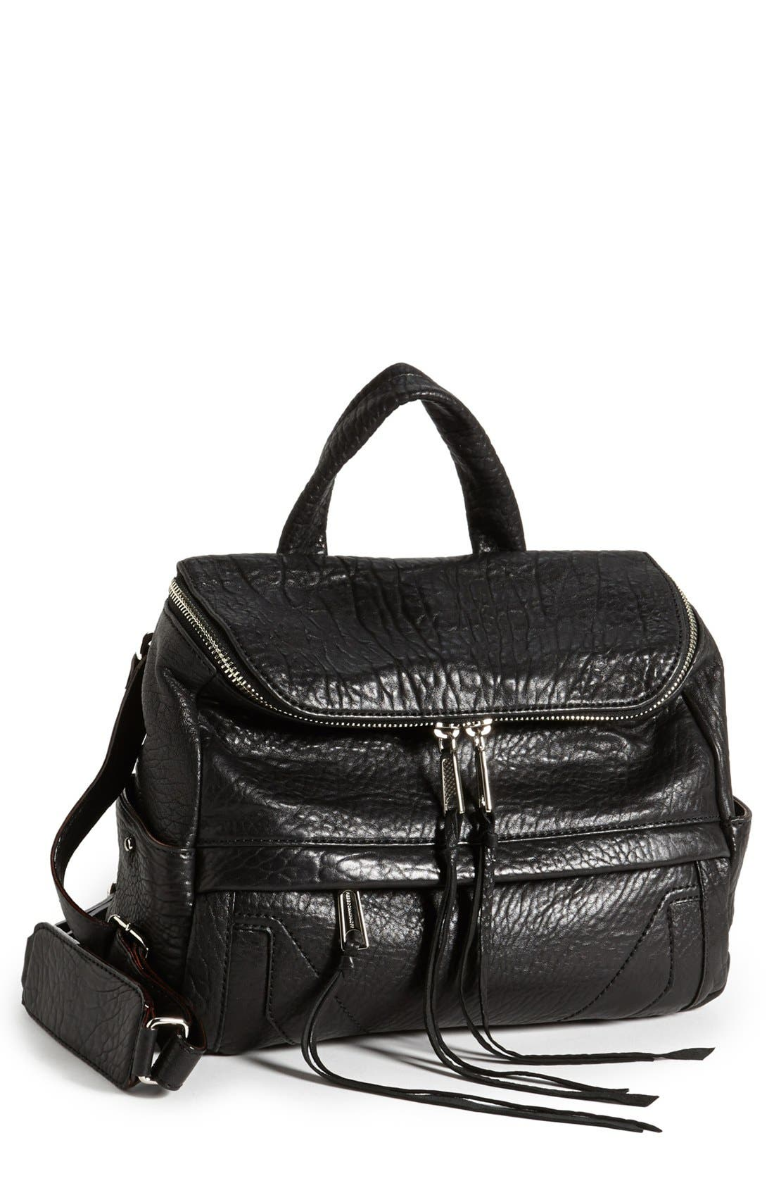 Alternate Image 1 Selected - Rebecca Minkoff 'Zach' Convertible Leather Backpack
