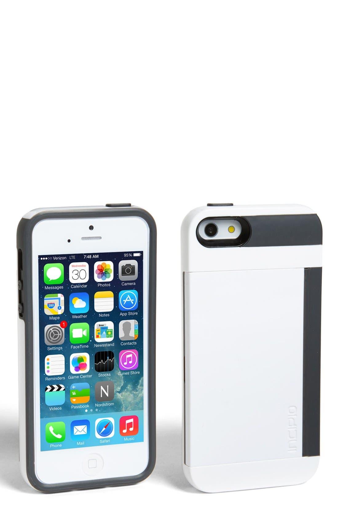 Alternate Image 1 Selected - Incipio 'Stowaway' iPhone 5 Case