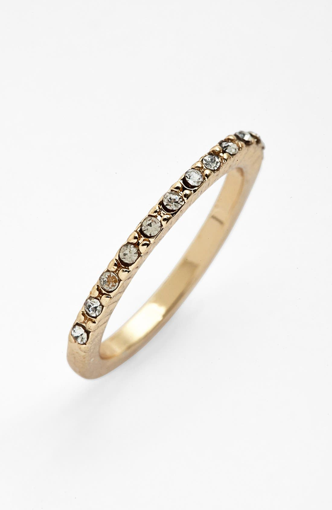 Main Image - Metal Haven by KENDALL + KYLIE Pavé Ring (Juniors)