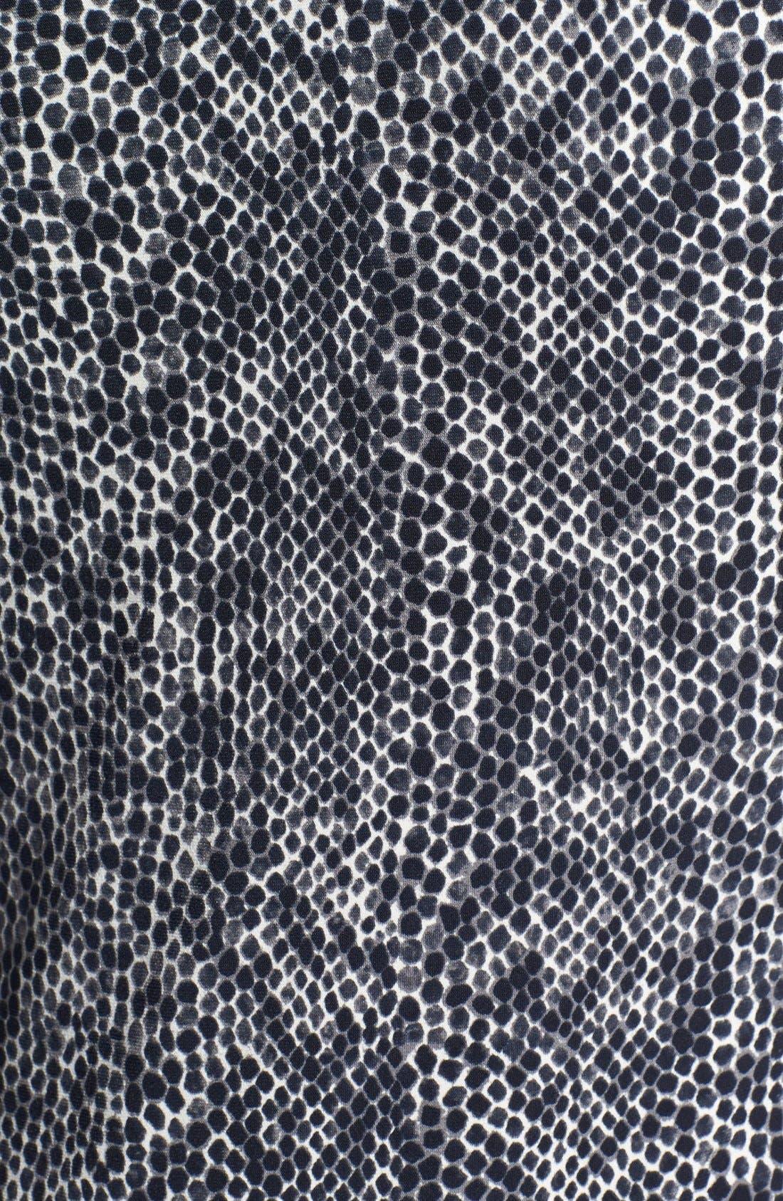 Alternate Image 3  - Vince Camuto 'Sea Snake' Sleeveless Stretch Knit Dress
