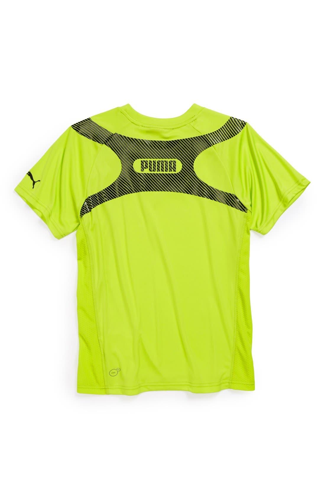 Alternate Image 2  - PUMA 'Acceleration' Short Sleeve T-Shirt (Little Boys)