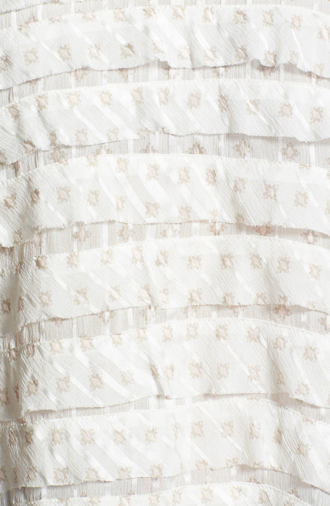 Alternate Image 3  - MARC BY MARC JACOBS 'Mini Diamond' Crinkle Silk Top