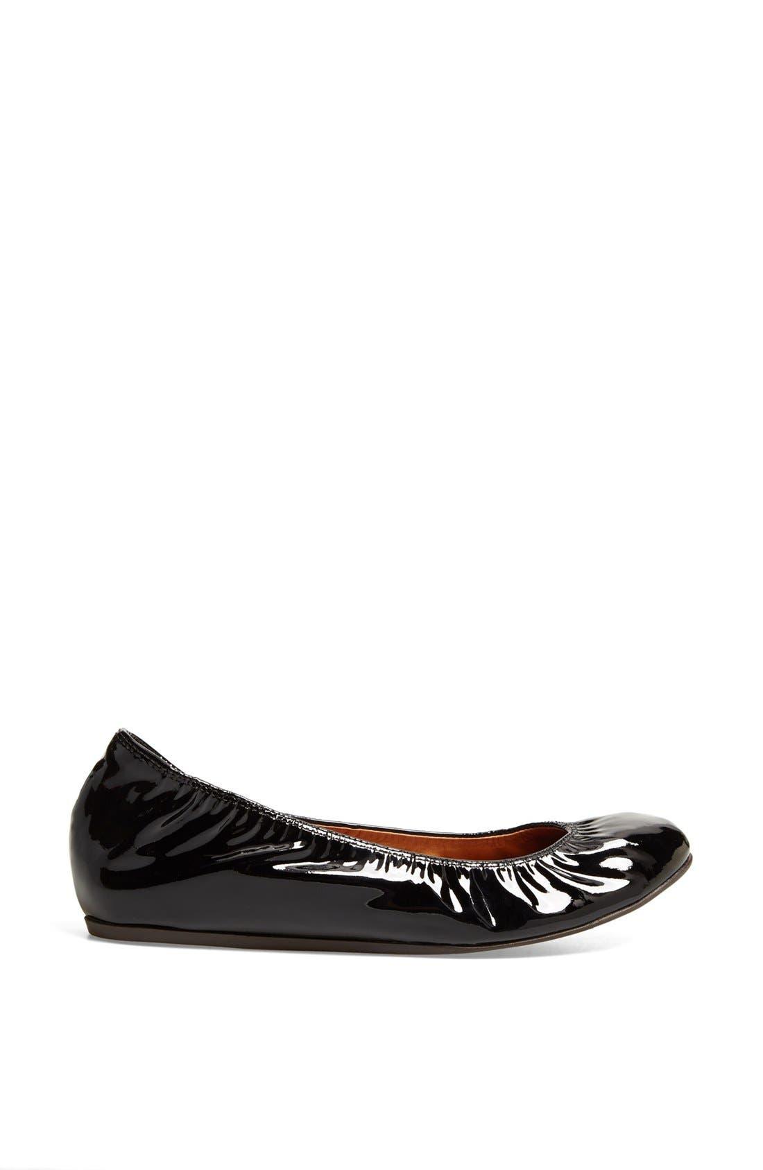 Alternate Image 4  - Lanvin Patent Leather Ballerina Flat