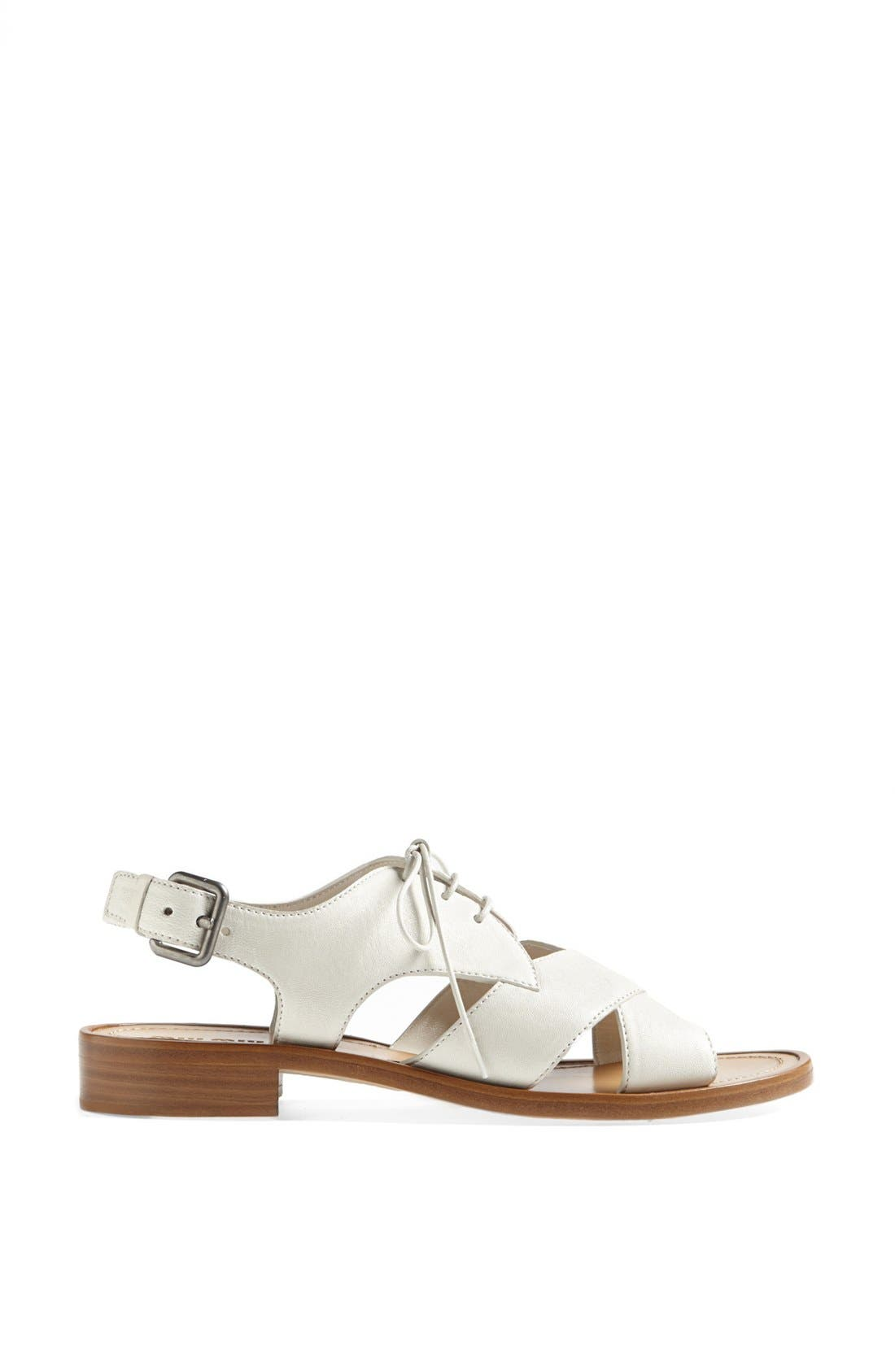 Alternate Image 4  - Miu Miu Lace-Up Sandal