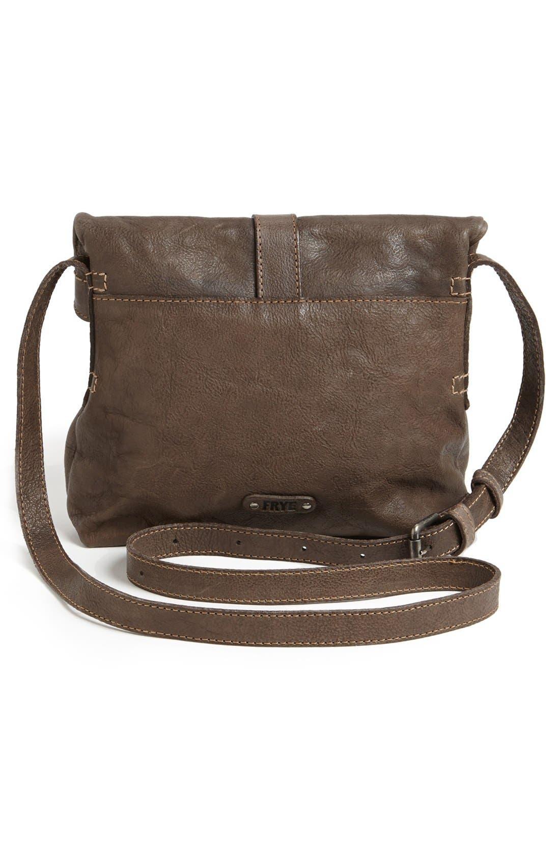 Alternate Image 4  - Frye 'Artisan Foldover' Leather Crossbody Bag