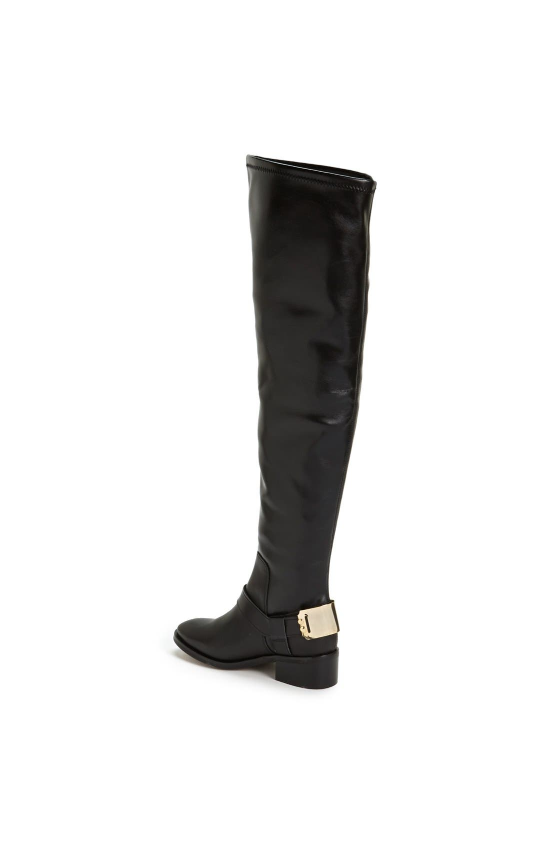 Alternate Image 2  - Topshop 'Dazzle' Over the Knee Boot