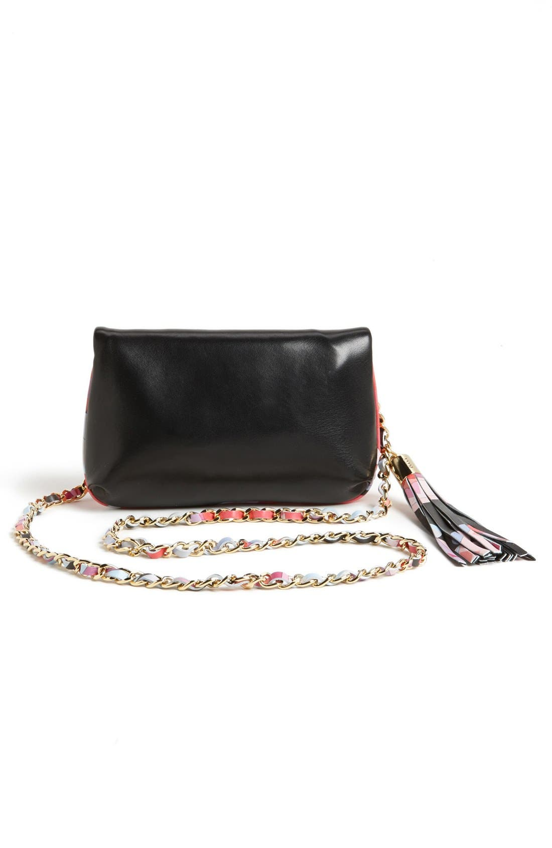 Alternate Image 4  - Emilio Pucci 'Mini' Colorblock Lambskin Leather Crossbody Bag