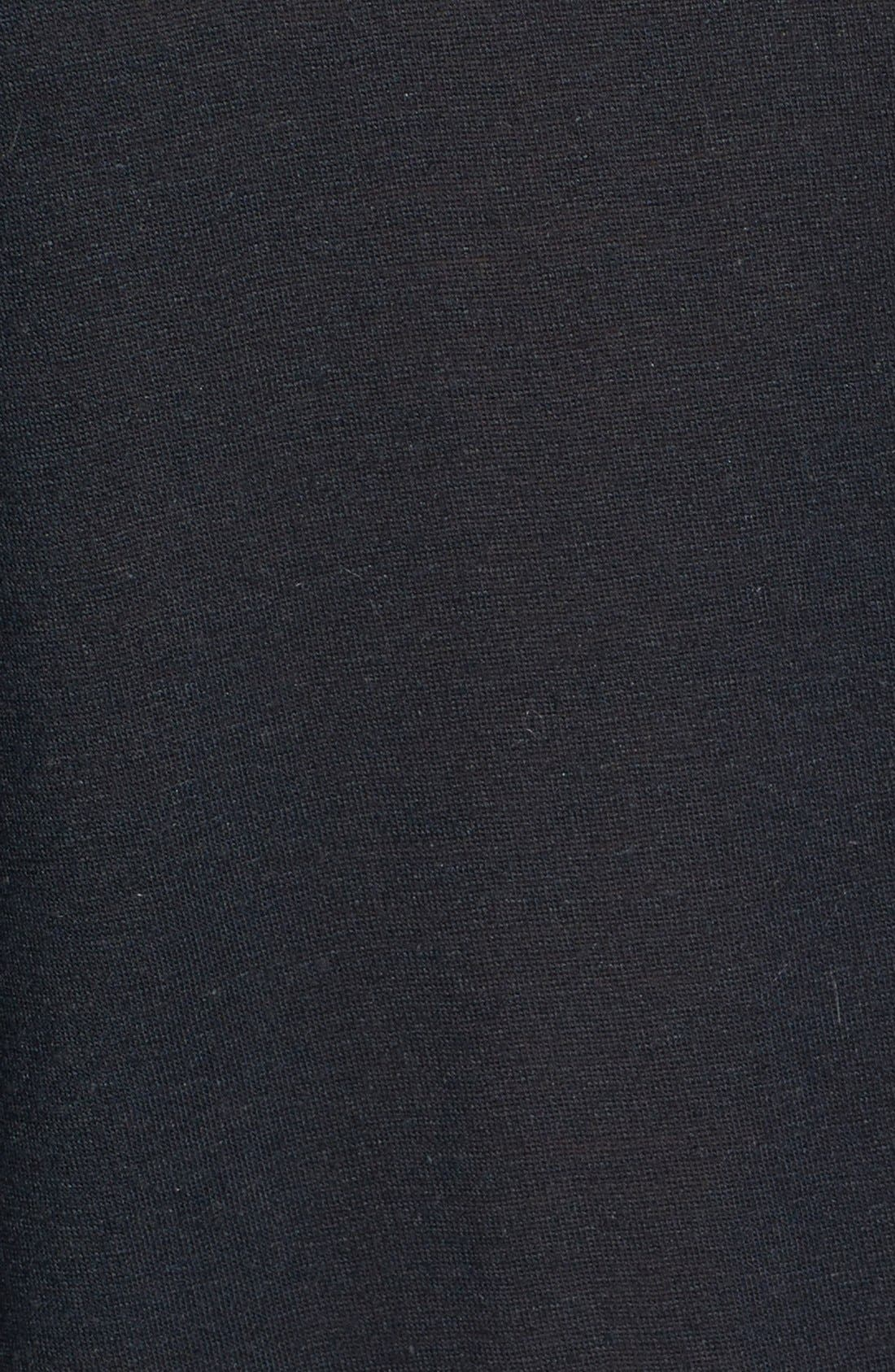Alternate Image 3  - Topshop Elbow Sleeve Oversized Tee