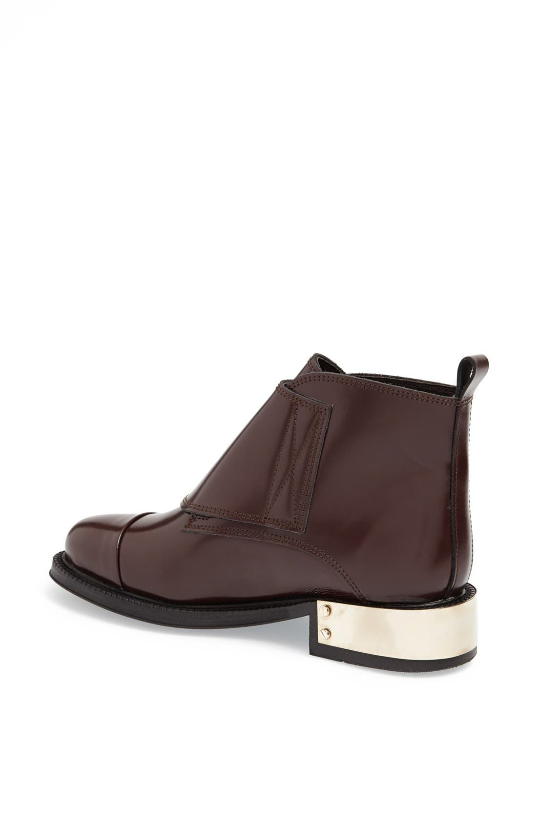 Alternate Image 2  - Topshop 'Pertora' Leather Monk Strap Boot