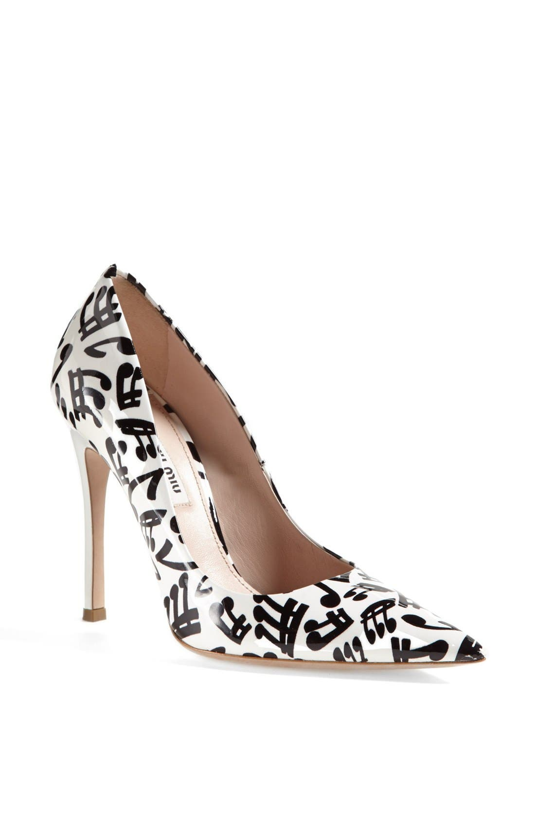 Main Image - Miu Miu 'Musical' Pump