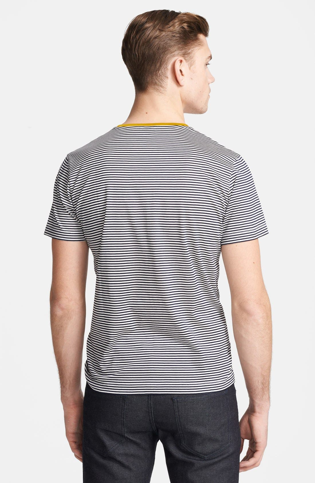 Alternate Image 2  - PS Paul Smith Stripe Crewneck T-Shirt