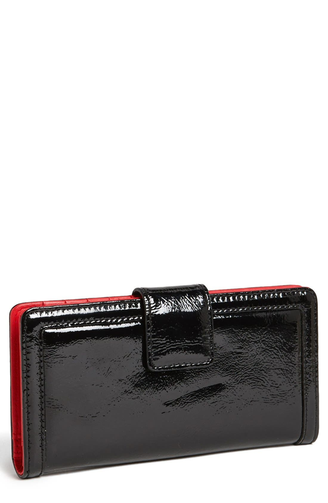 Alternate Image 1 Selected - Halogen® 'Victoria' Patent Leather Wallet