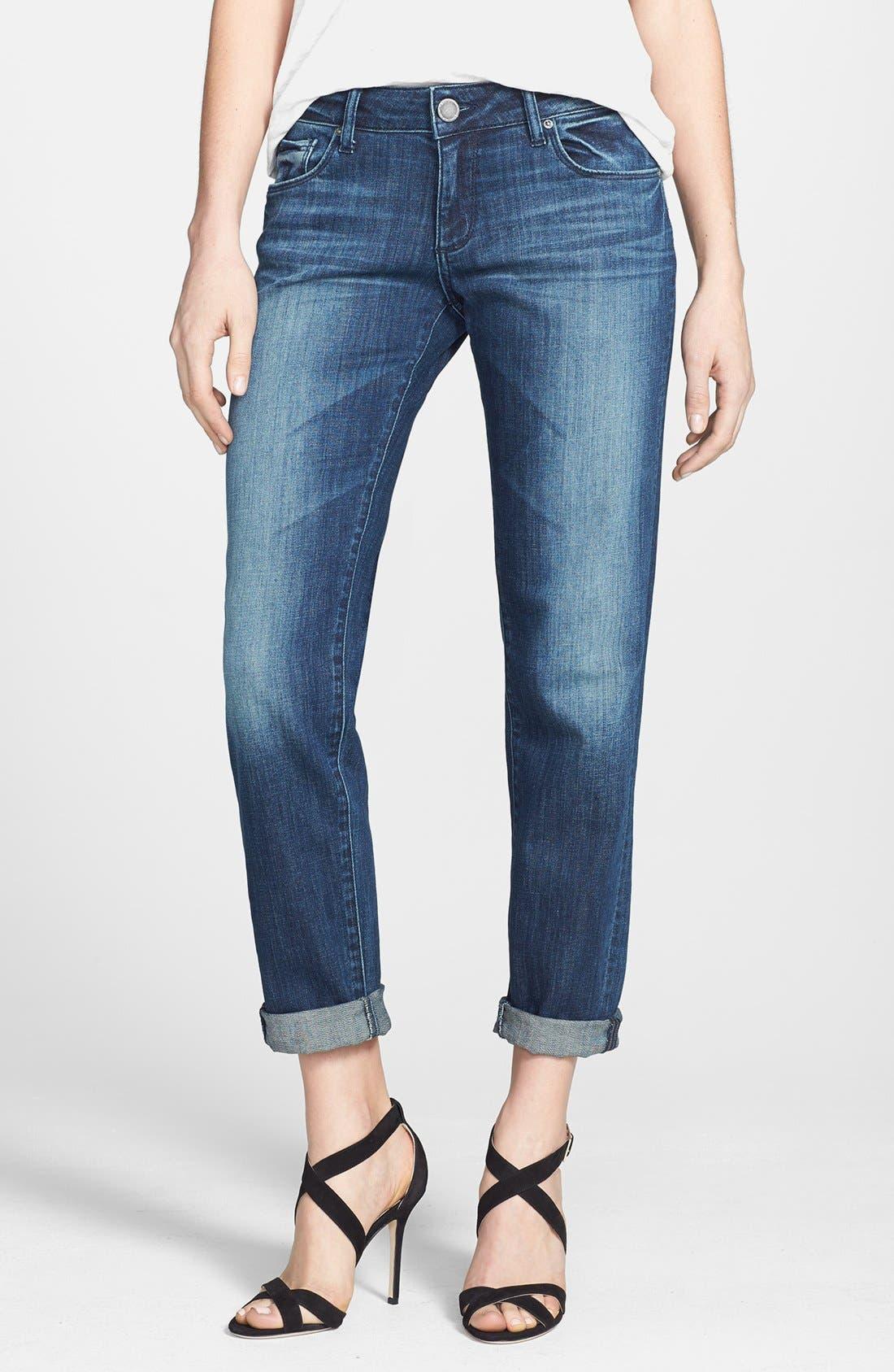Main Image - DL1961 'Riley' Boyfriend Jeans (Nassau)