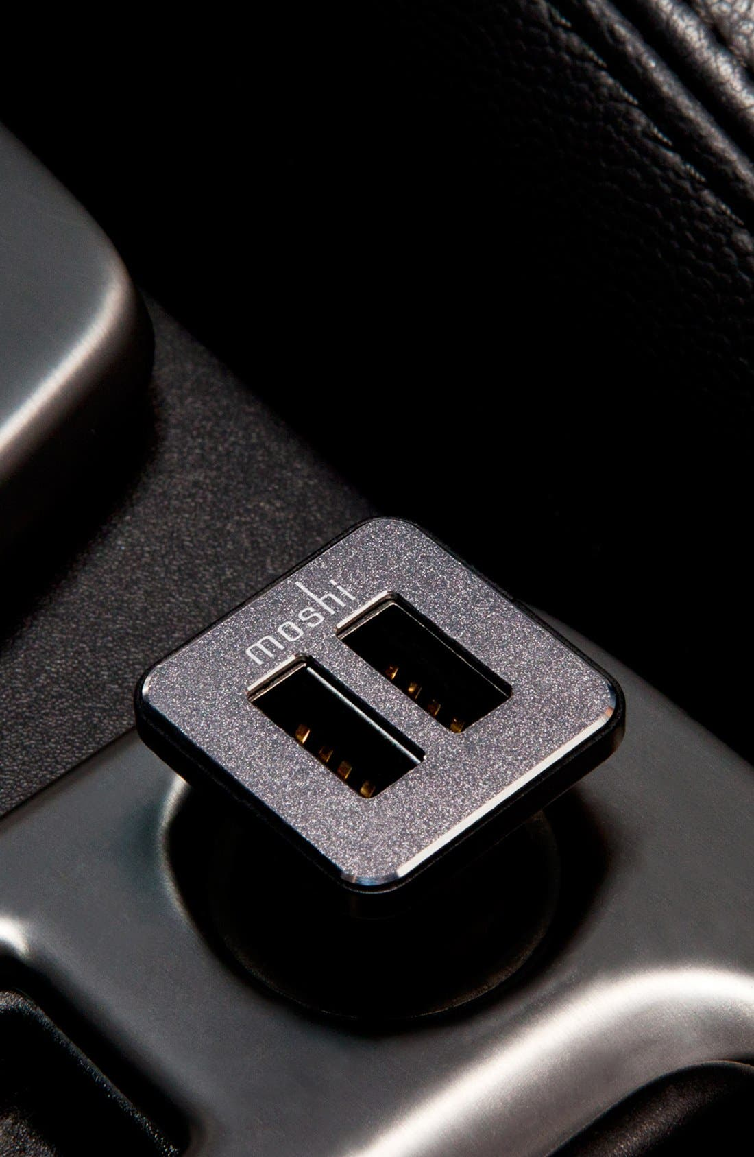 Alternate Image 5  - Moshi 'Revolt Duo' 20W USB Car Charger with Lightning Cable