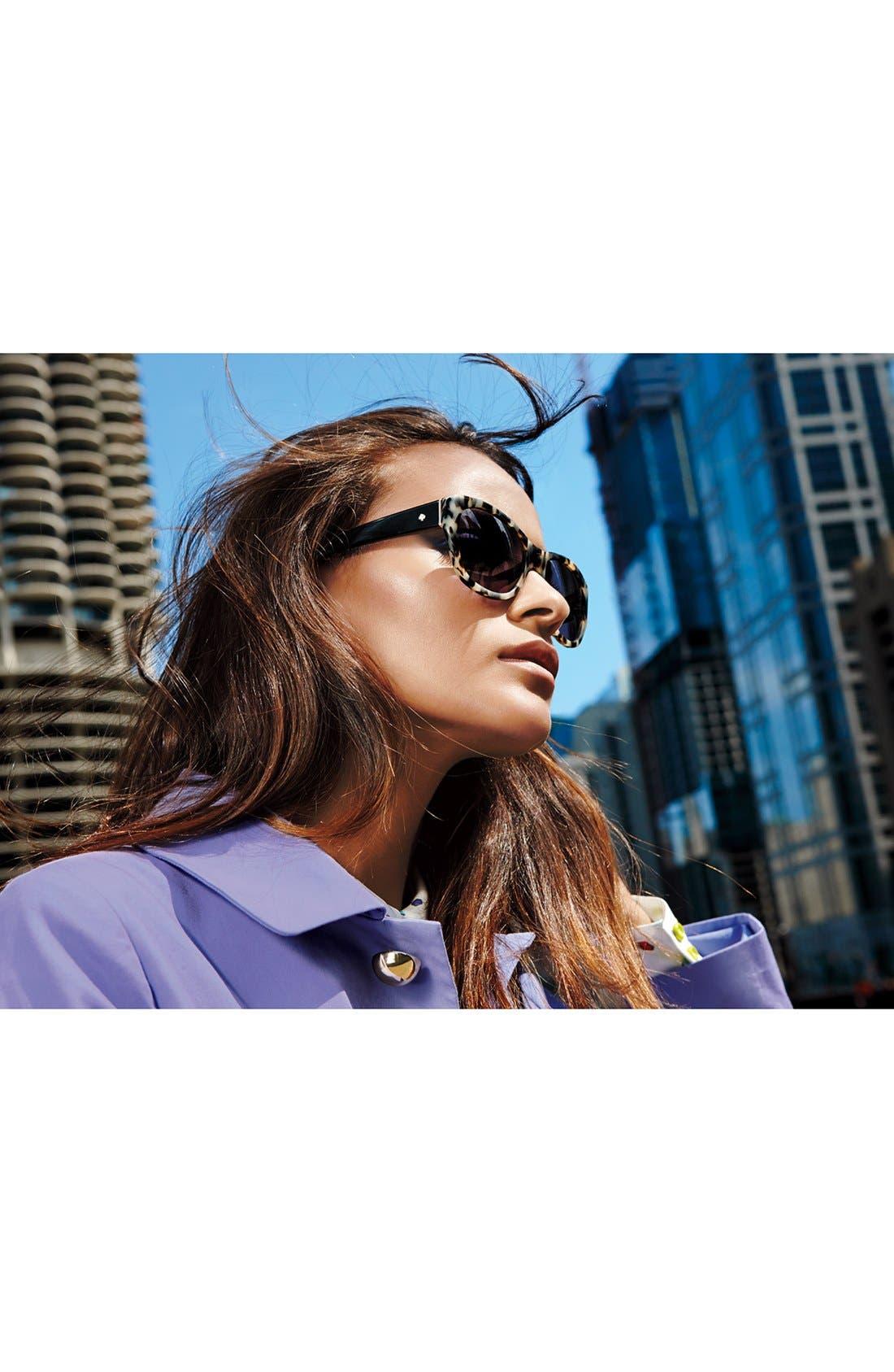 Alternate Image 2  - kate spade new york 'kia' 54mm cat eye sunglasses