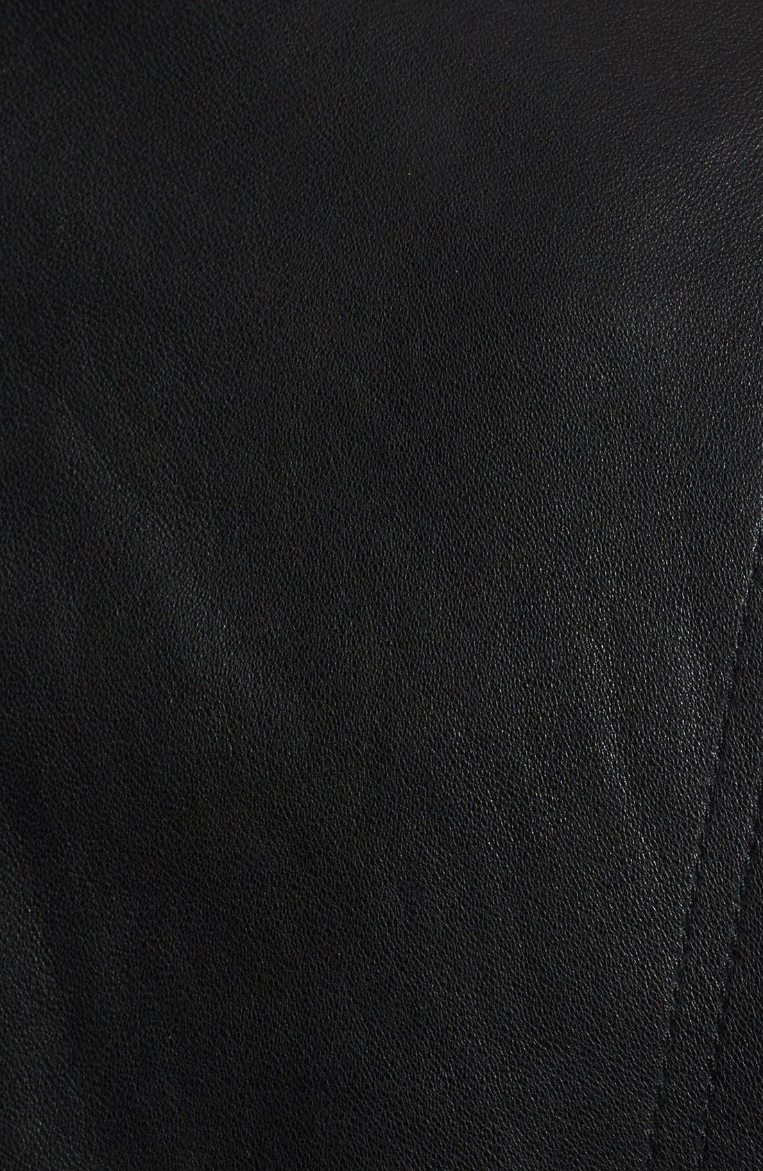 Alternate Image 3  - Vince Vintage Leather Moto Jacket