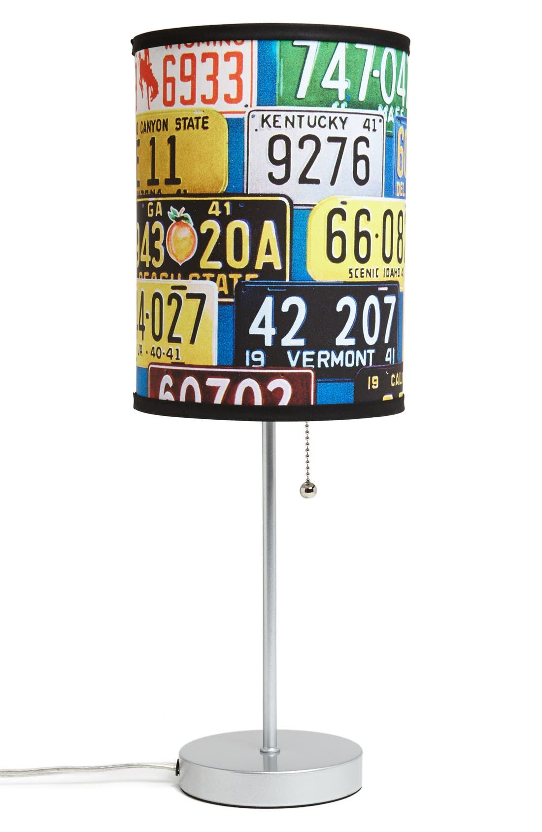 Main Image - LAMP-IN-A-BOX 'License Plate' Table Lamp