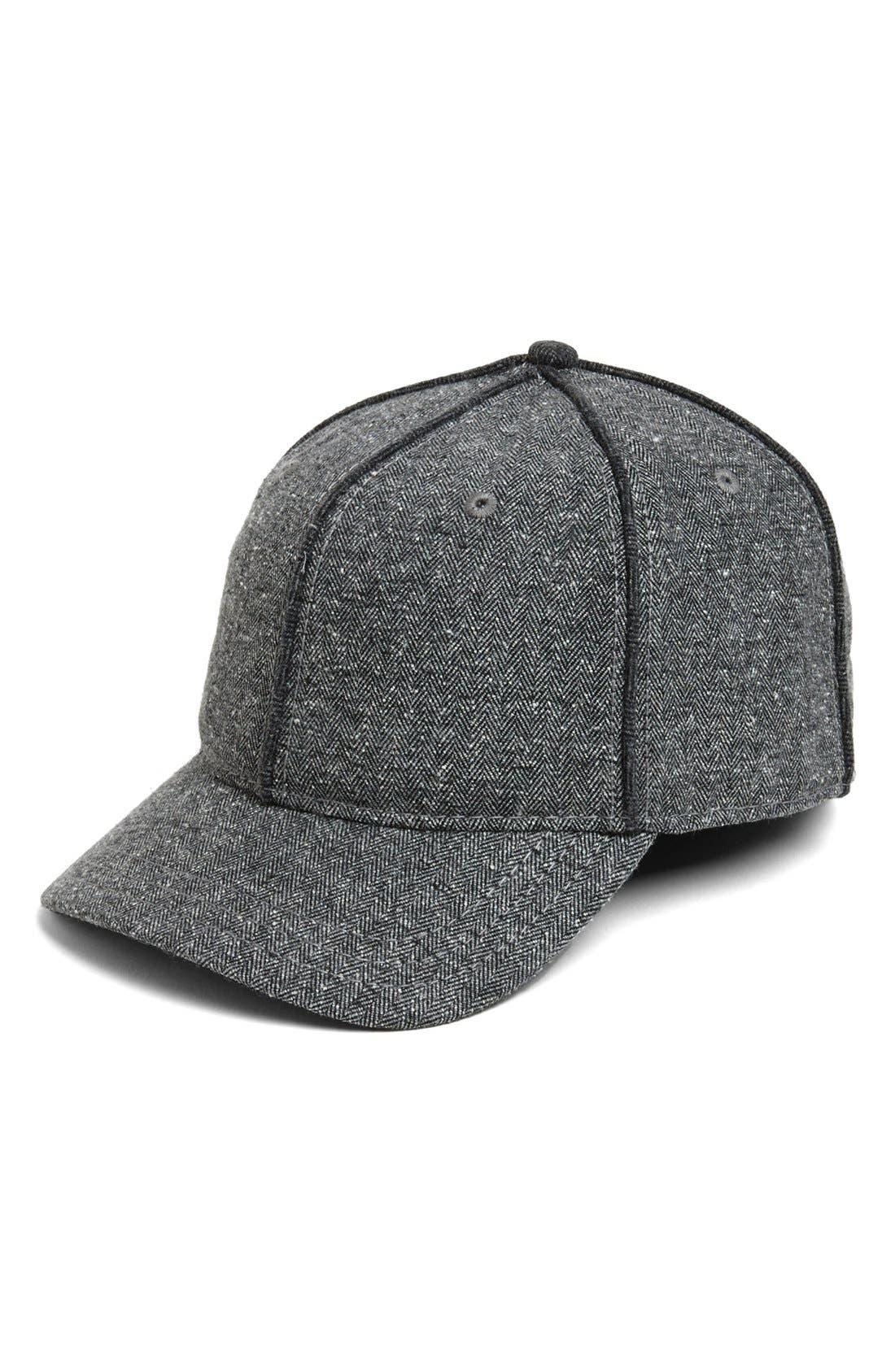 Main Image - rag & bone Herringbone Baseball Cap