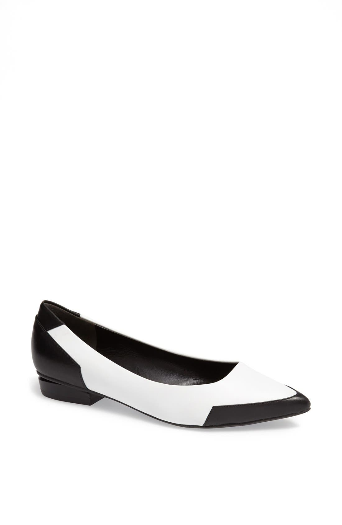 Alternate Image 1 Selected - Kenneth Cole New York 'Mulberry' Leather Flat