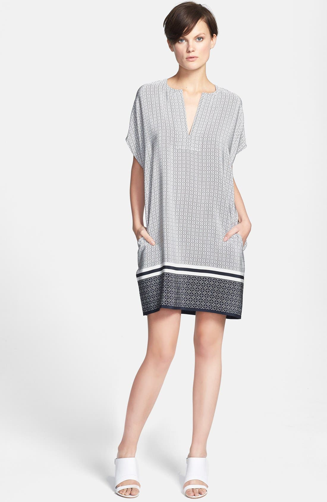 Alternate Image 1 Selected - Vince 'Trapunto' Print Dress