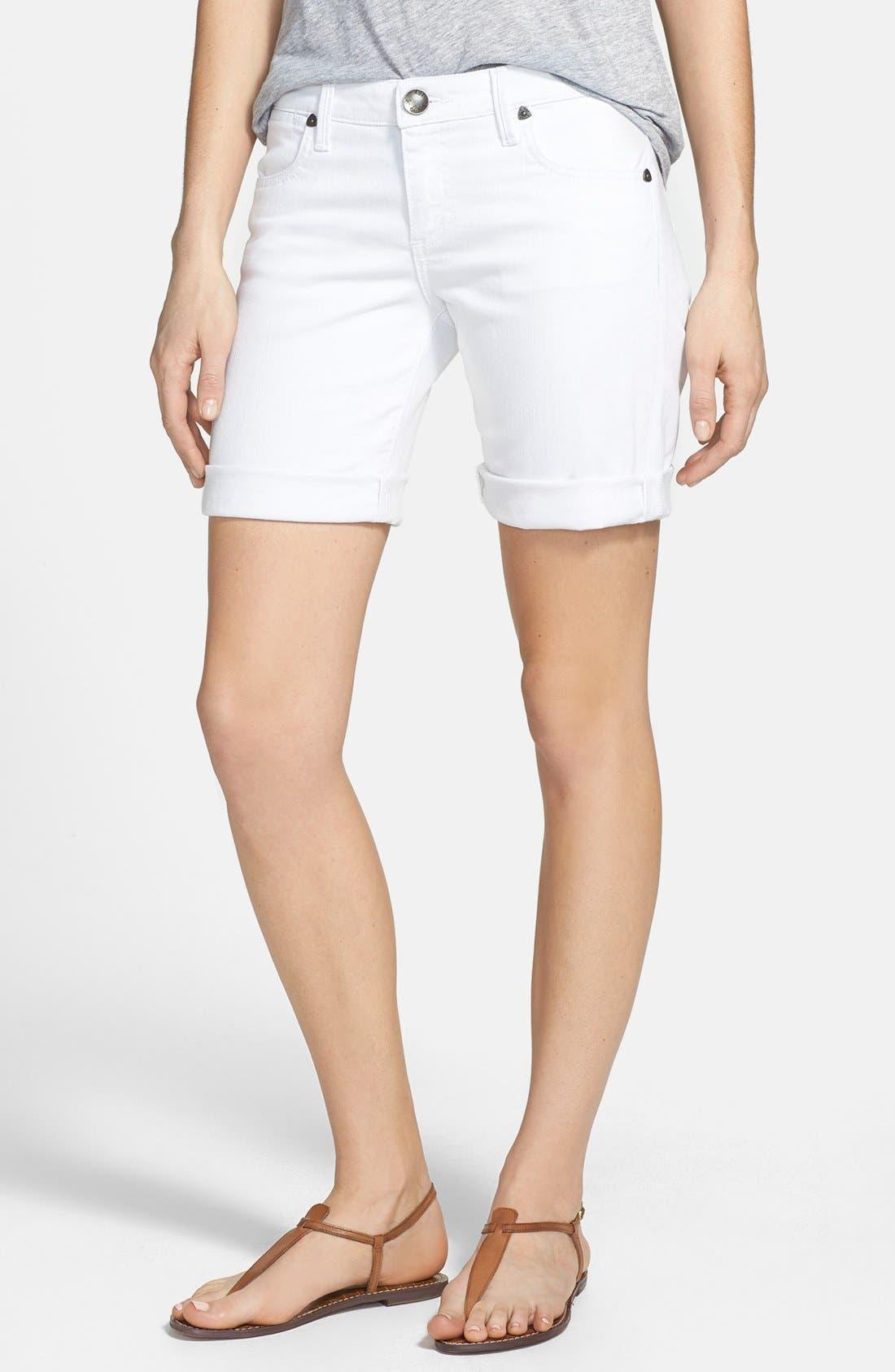 Alternate Image 1 Selected - KUT from the Kloth 'Catherine' Denim Boyfriend Shorts