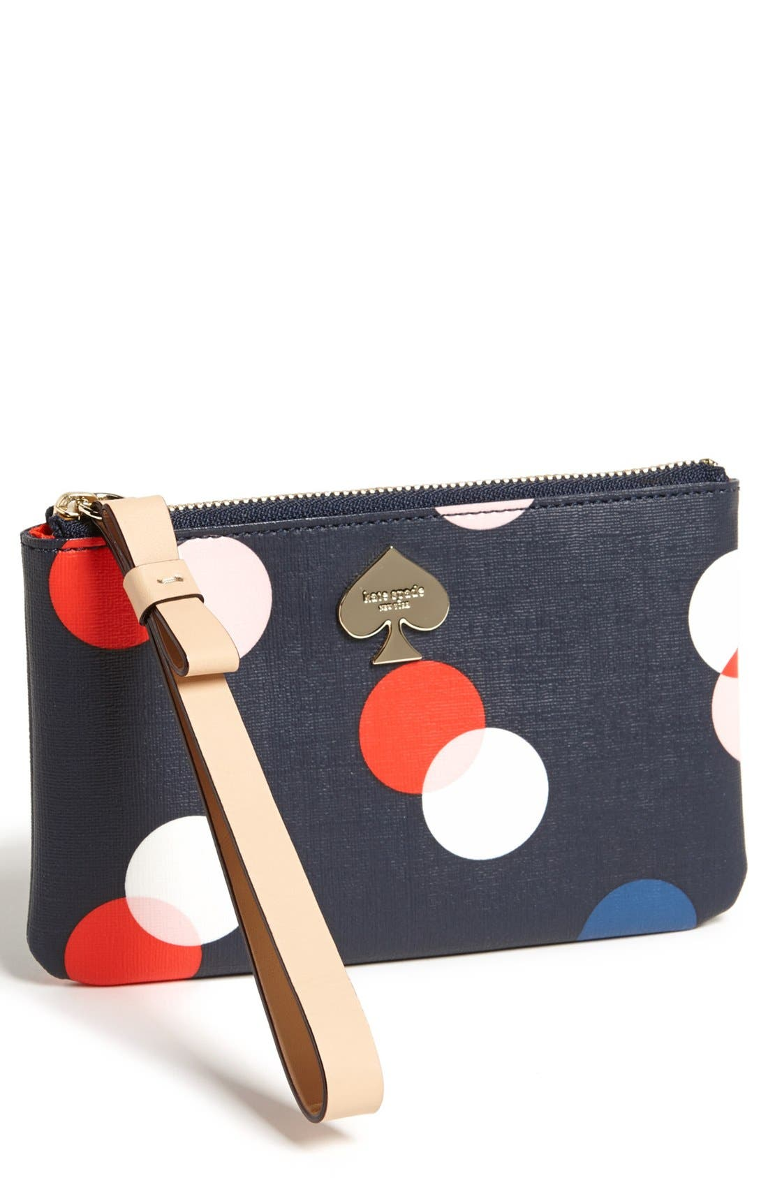 Main Image - kate spade new york 'cobblestone park - bee' wristlet