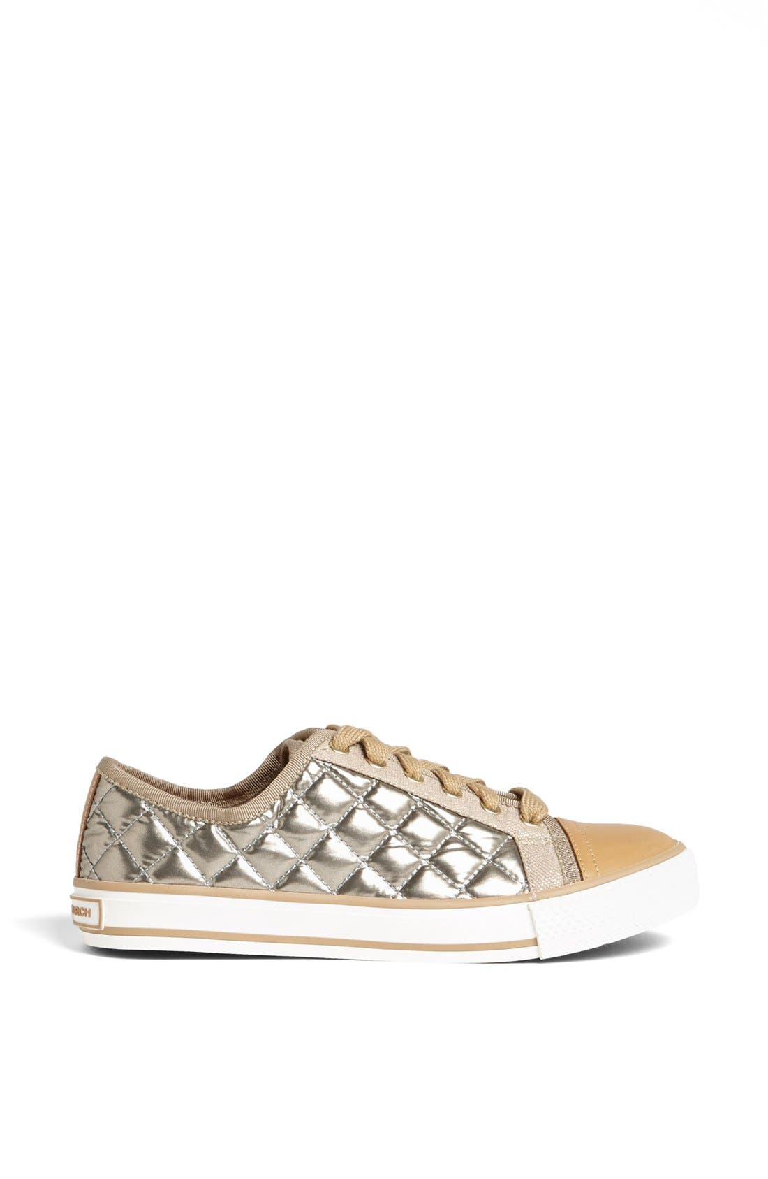 Alternate Image 4  - Tory Burch 'Caspe' Quilted Metallic Leather Sneaker
