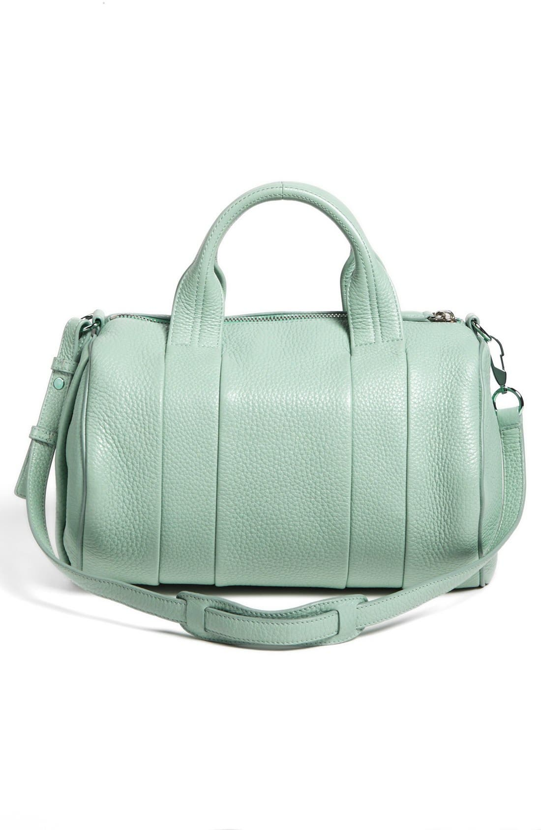 Alternate Image 4  - Alexander Wang 'Rocco - Zinc' Leather Satchel