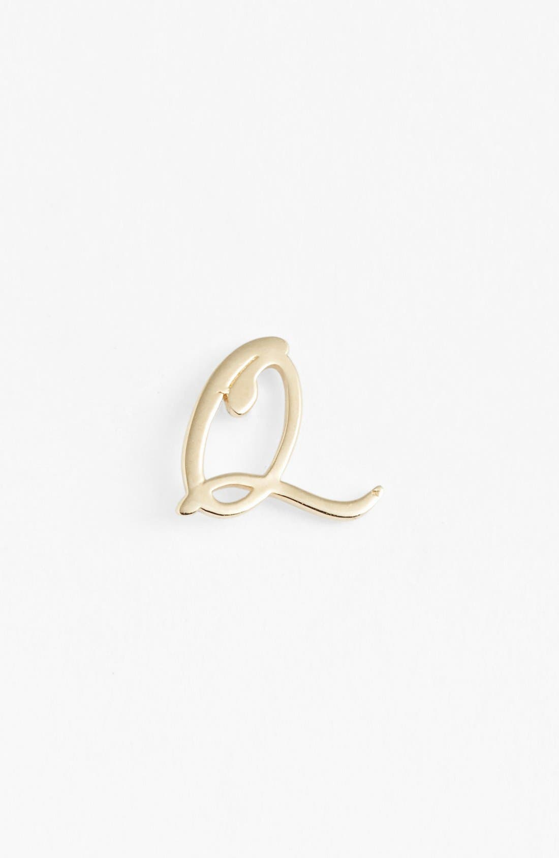 Main Image - Lana Jewelry 'Spellbound' Initial Half-Pair Stud Earrings