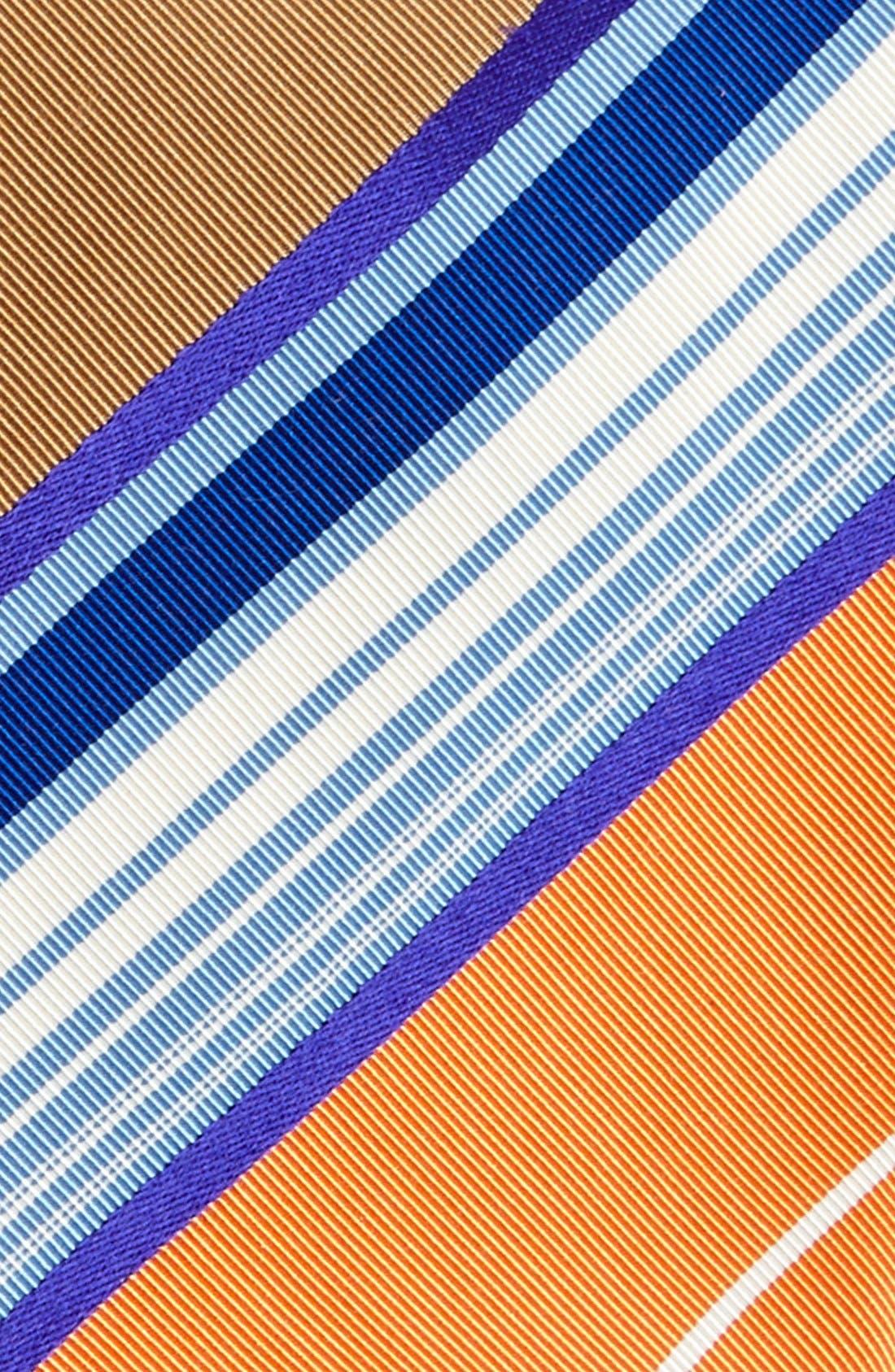 Alternate Image 2  - Etro Woven Silk & Cotton Tie
