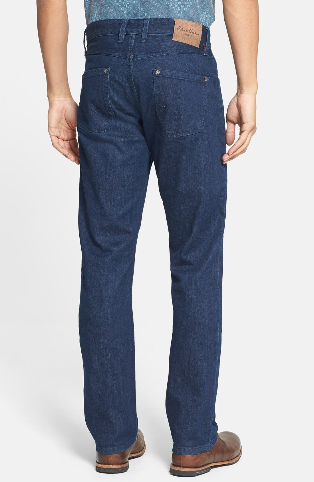 Alternate Image 2  - Robert Graham 'Mad Hatter' Classic Fit Straight Leg Jeans