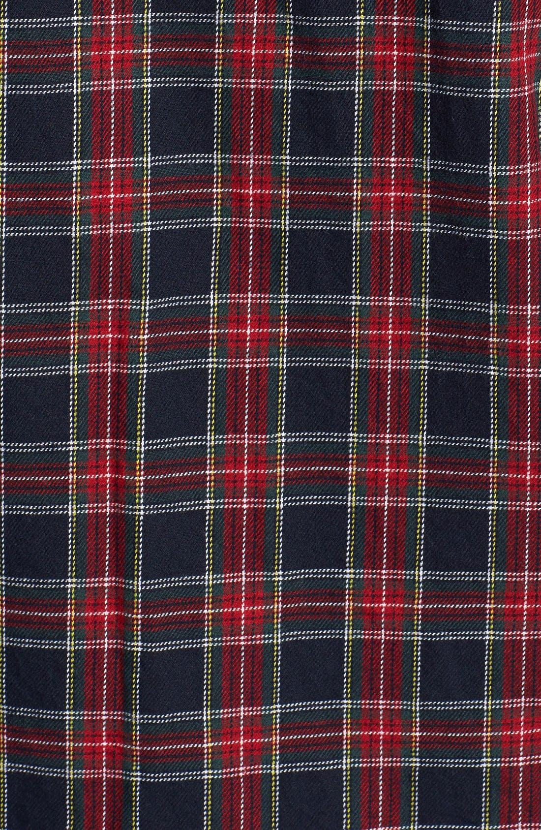Alternate Image 3  - Topman Classic Fit Tartan Flannel Shirt
