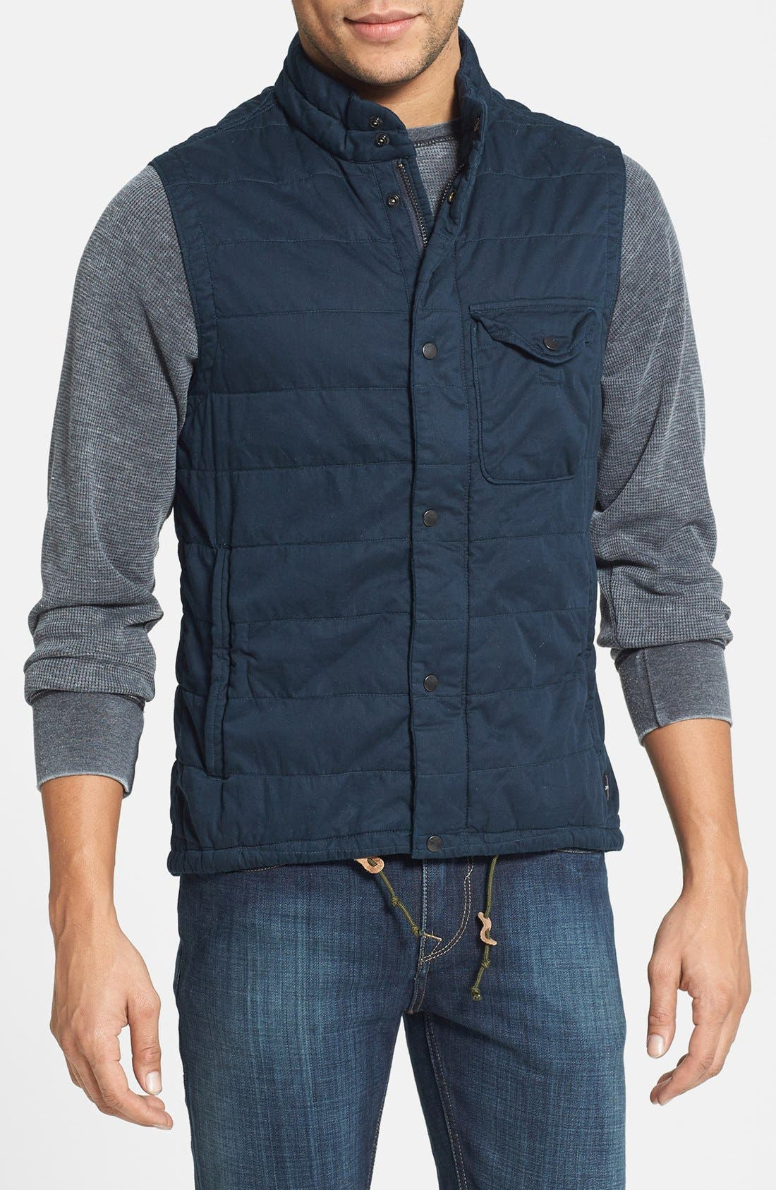 Alternate Image 1 Selected - Relwen 'Flyweight' Cotton Twill Vest