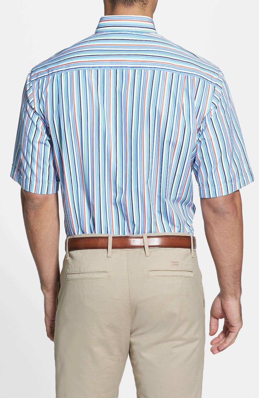 Alternate Image 2  - Paul & Shark Classic Fit Short Sleeve Sport Shirt