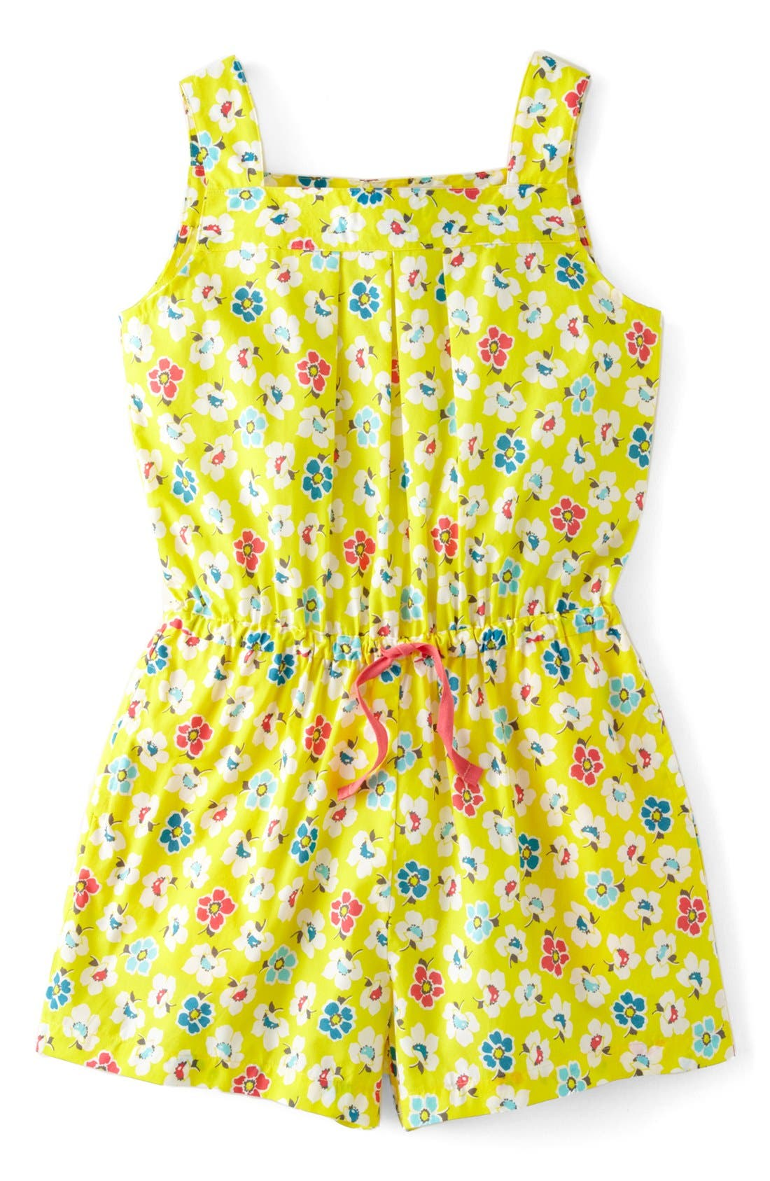 Alternate Image 1 Selected - Mini Boden 'Pretty' Romper (Little Girls & Big Girls)