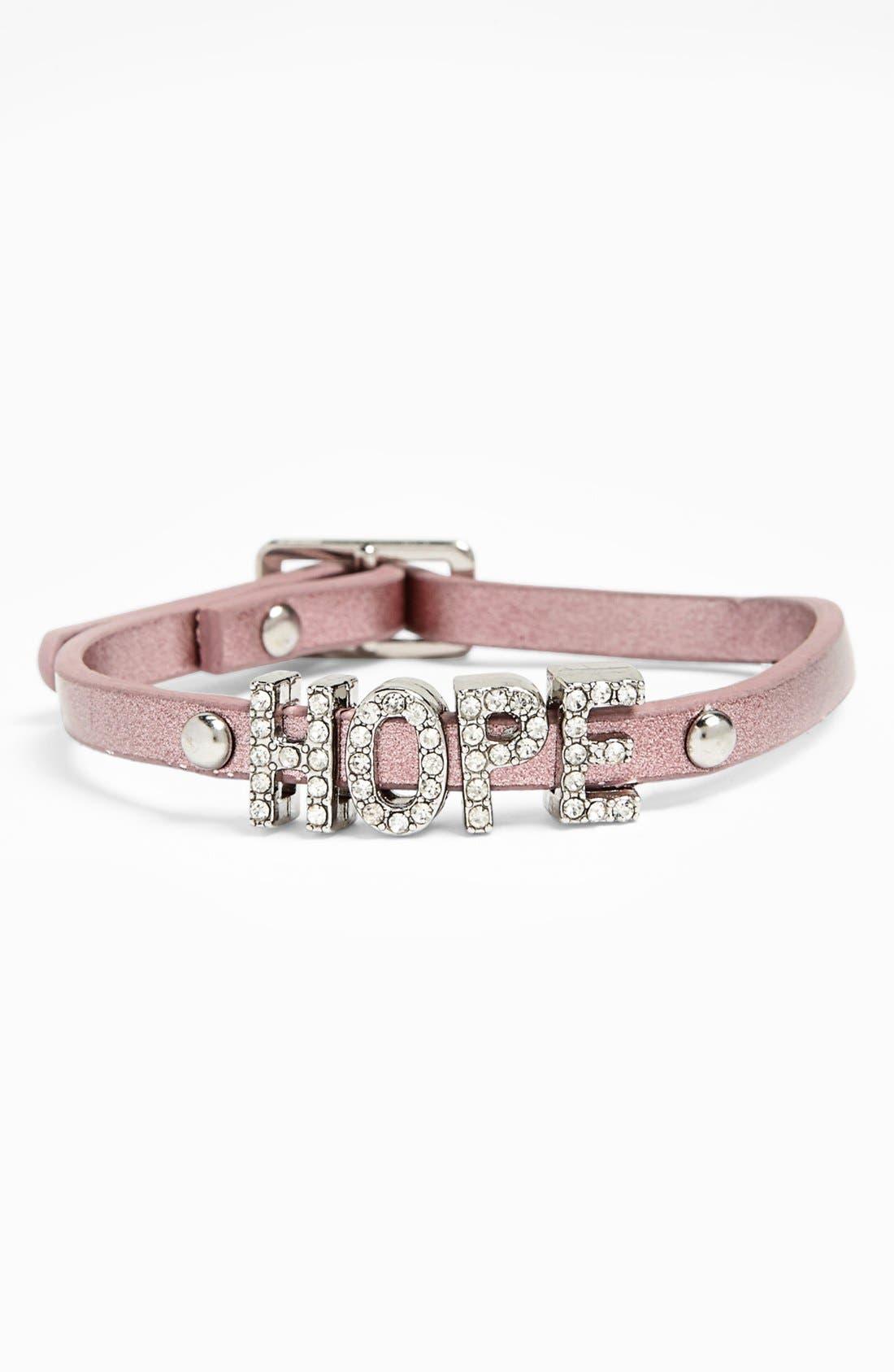 Alternate Image 1 Selected - BCBGeneration 'Sparkly Hope' Bracelet