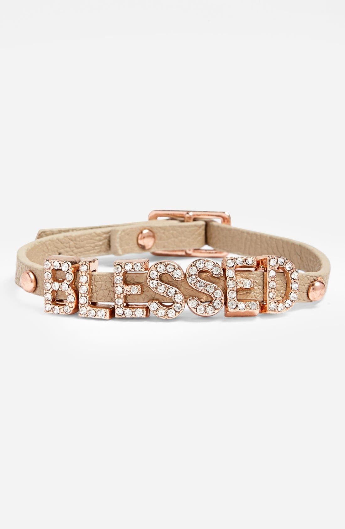 Alternate Image 1 Selected - BCBGeneration 'Sparkly Blessed' Bracelet