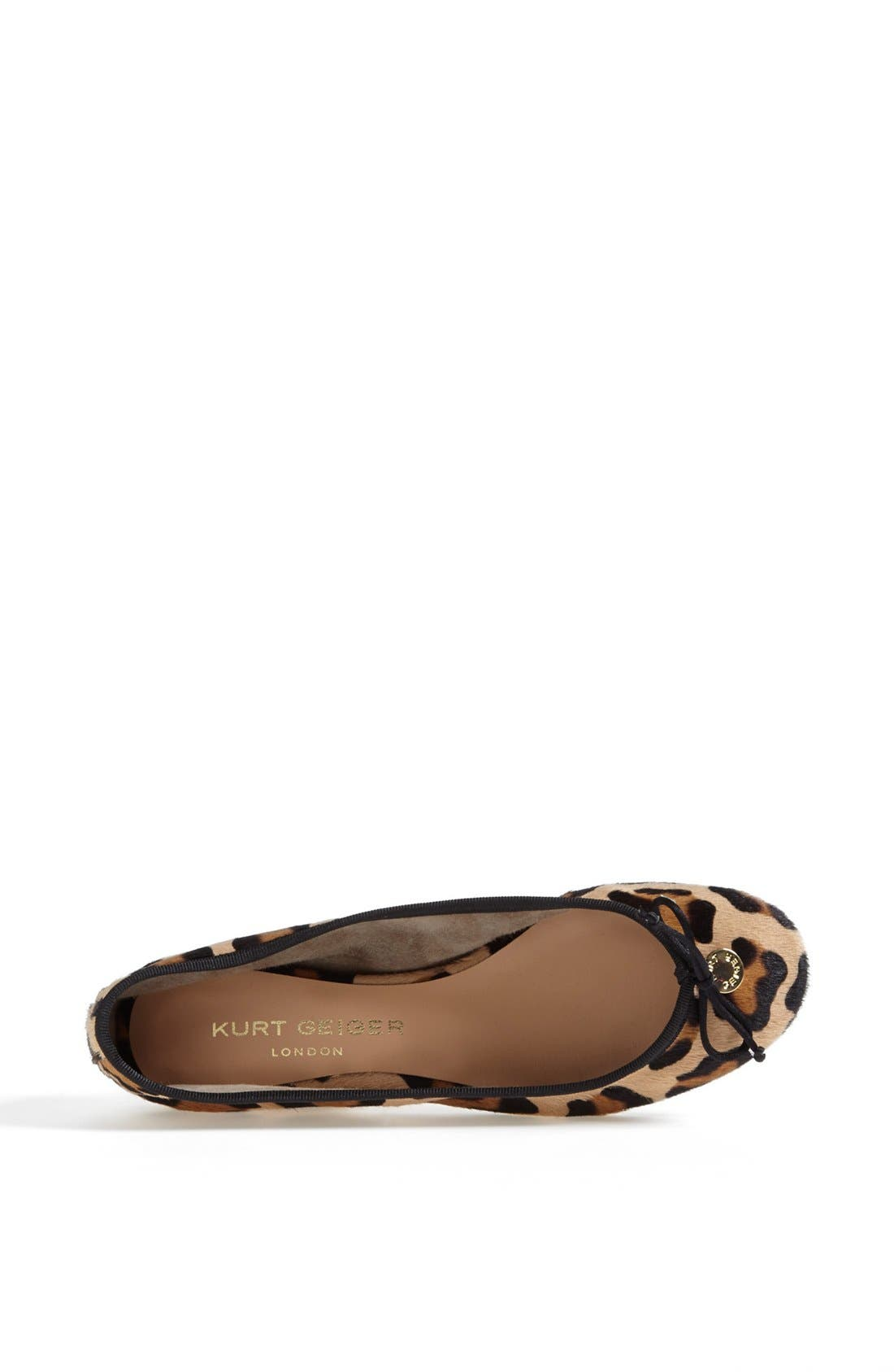 Alternate Image 3  - Kurt Geiger London 'Lourdes' Skimmer Flat (Online Only)