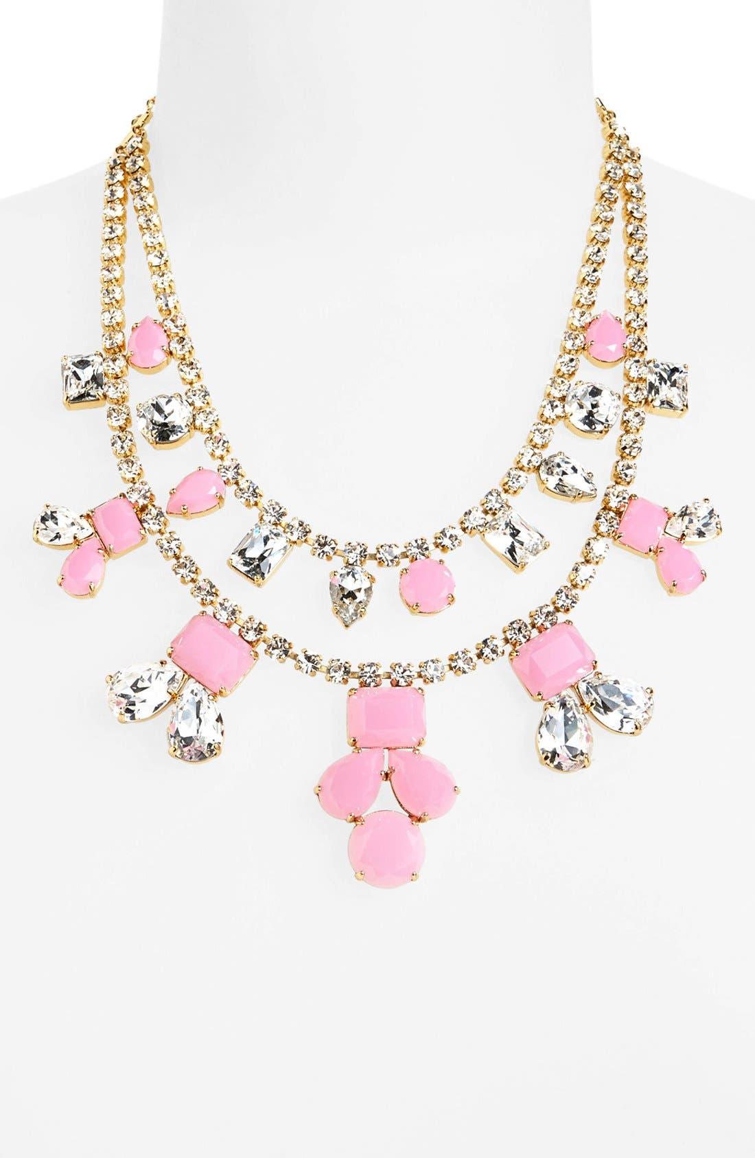 Alternate Image 1 Selected - kate spade new york 'secret garden' multistrand necklace