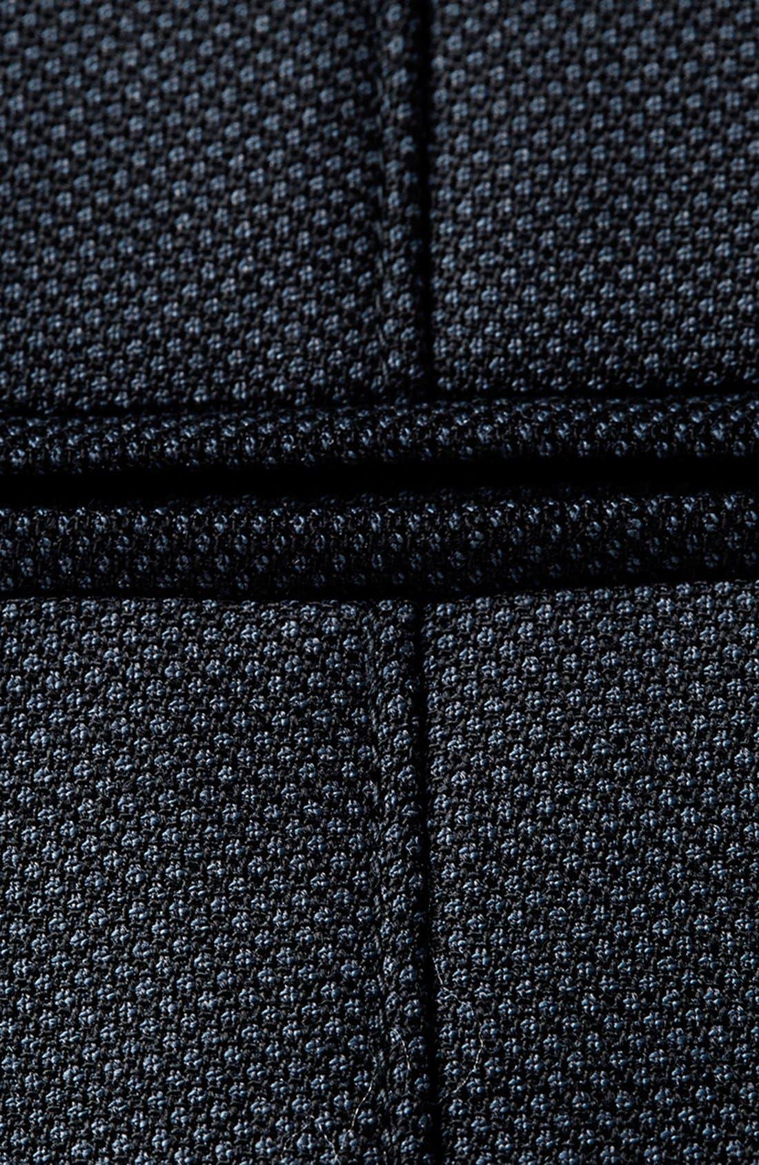 Alternate Image 3  - Topman Skinny Fit Textured Wool Blend Vest
