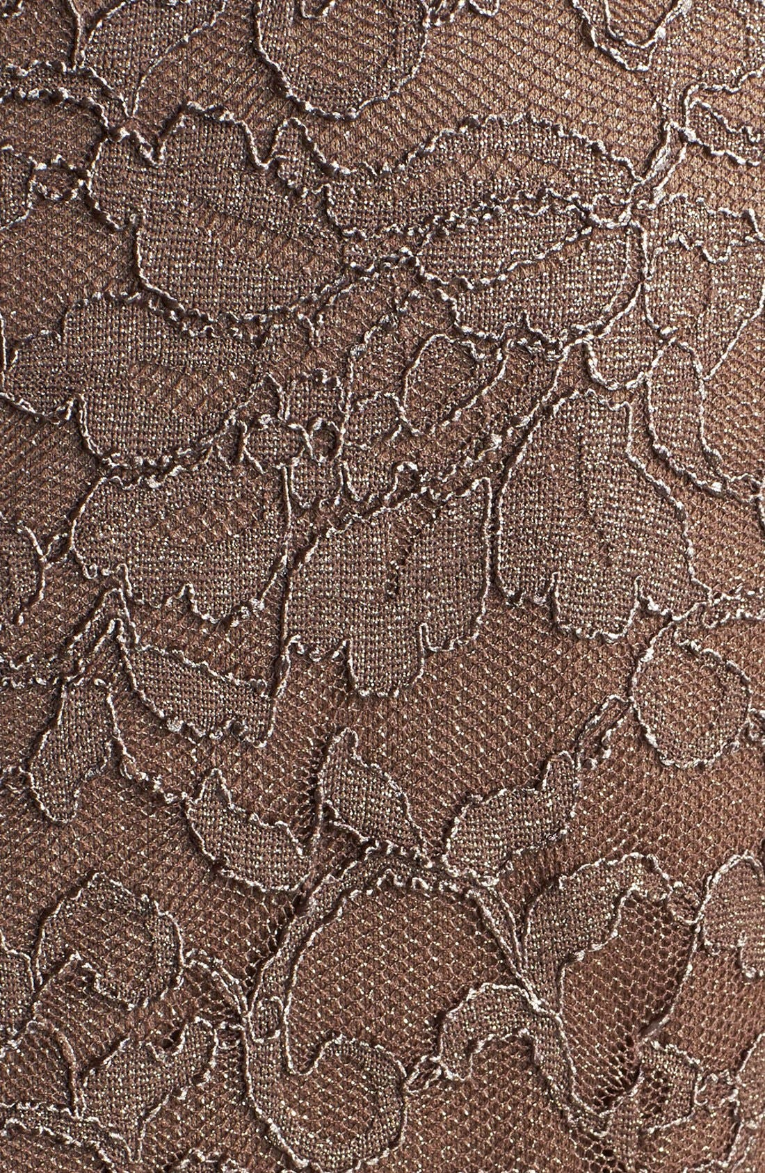 Alternate Image 4  - Alex Evenings Mock Two-Piece Lace Sheath Dress