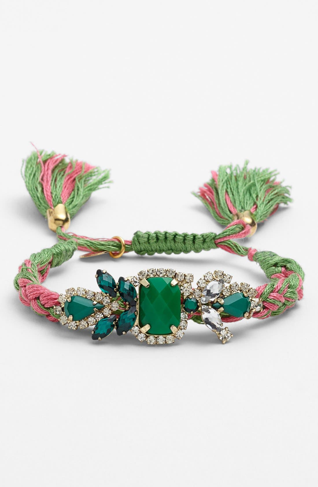 Main Image - Cara Couture Adjustable Woven Bracelet