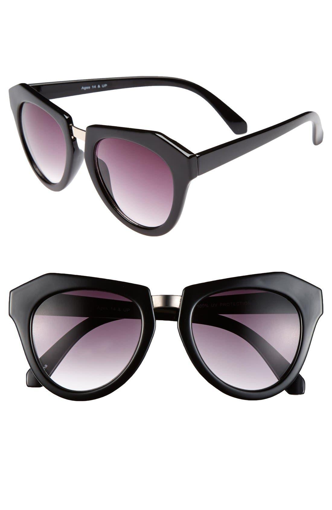 Alternate Image 1 Selected - FE NY 'Contour' 50mm Sunglasses