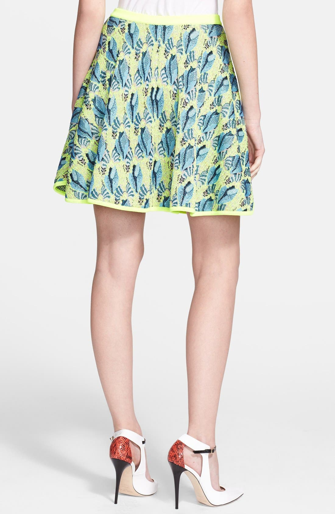 Alternate Image 2  - Mary Katrantzou Jacquard Knit Skirt