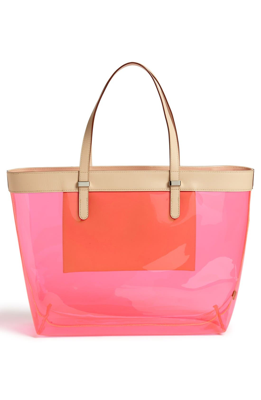 Alternate Image 3  - Rebecca Minkoff 'Cherish - Clear' Tote, Extra Large