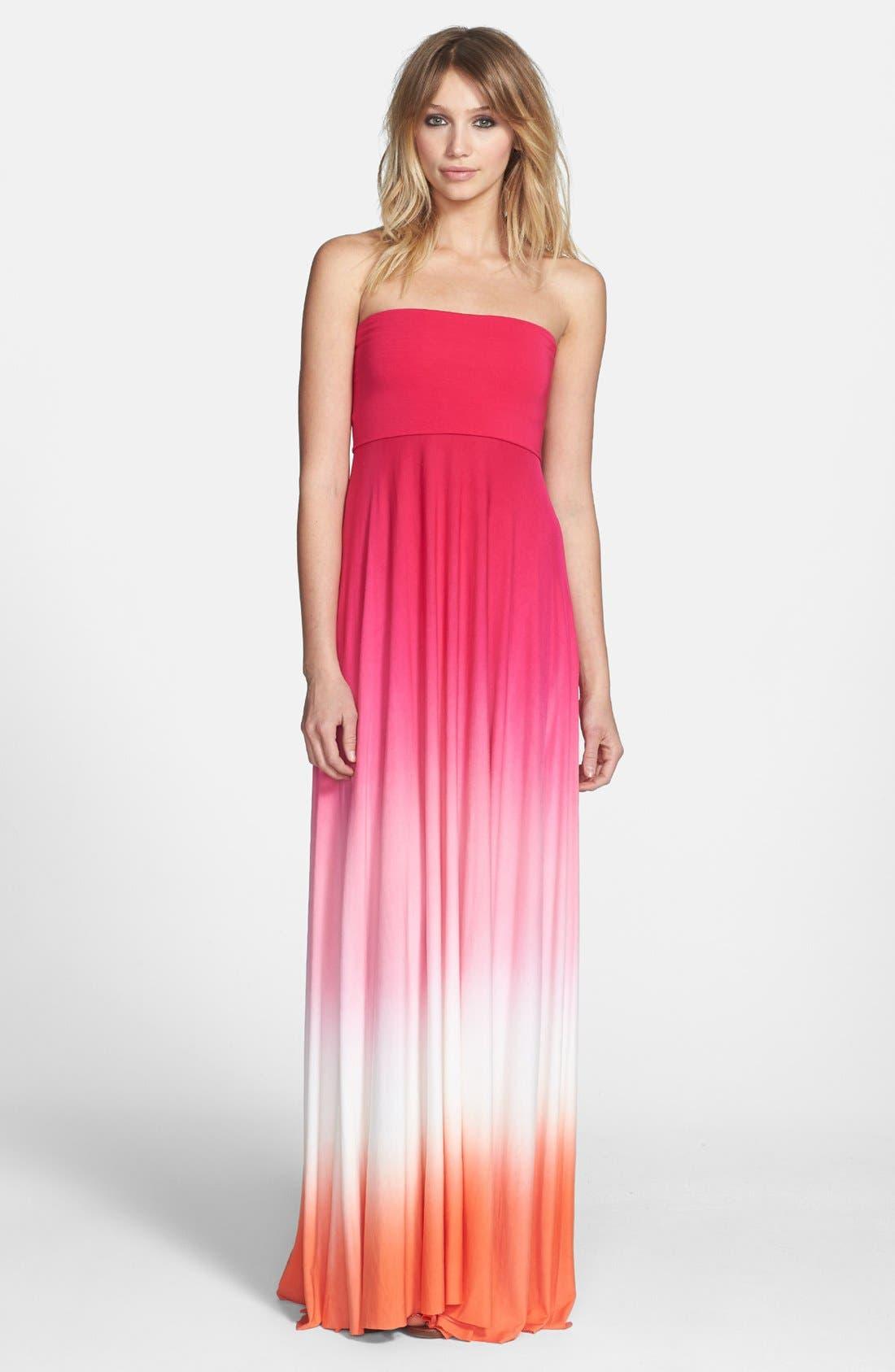 Main Image - Young, Fabulous & Broke 'Bangal' Convertible Maxi Dress