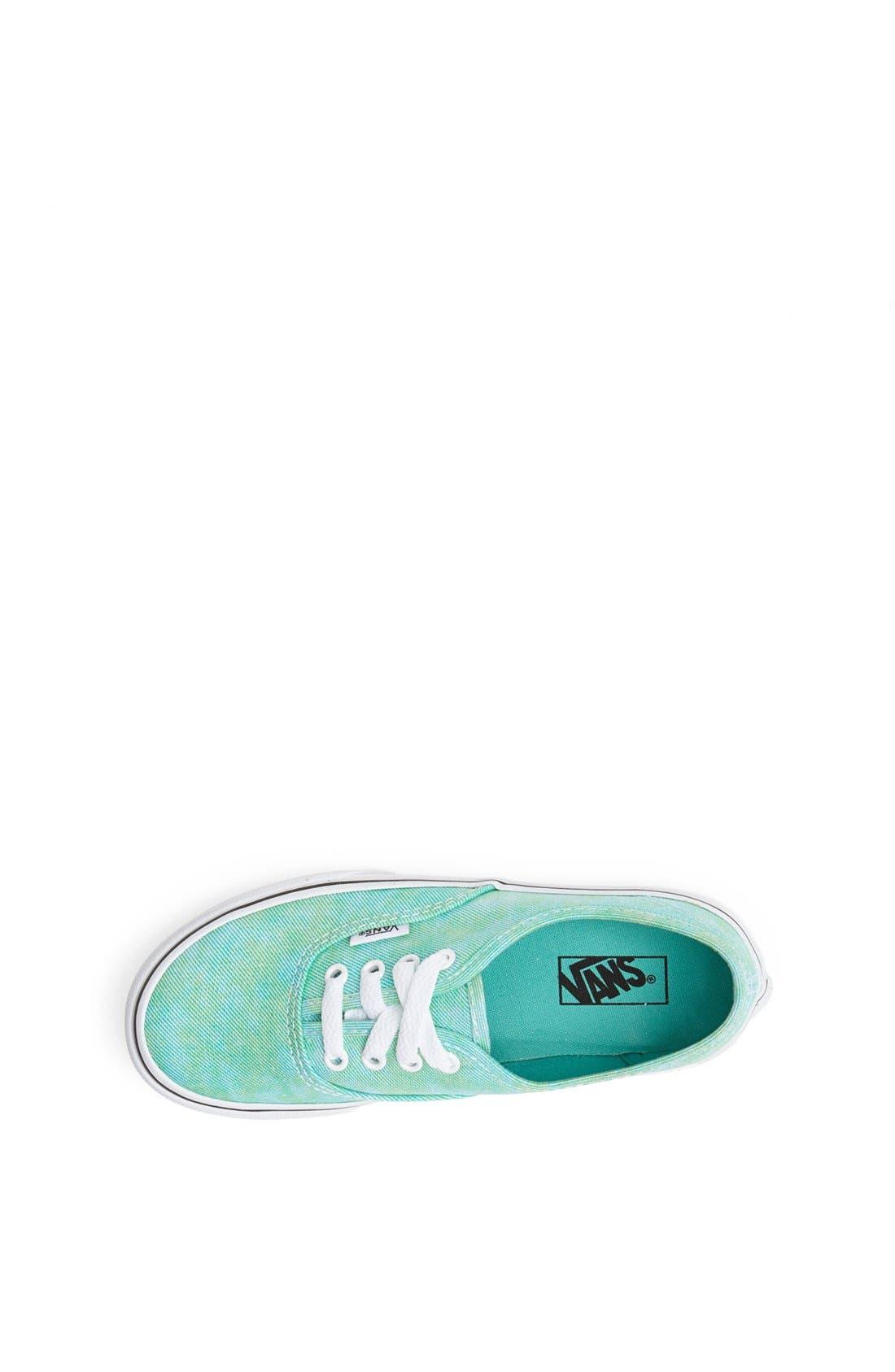 Alternate Image 3  - Vans 'Authentic' Glitter Canvas Sneaker (Toddler, Little Kid & Big Kid)